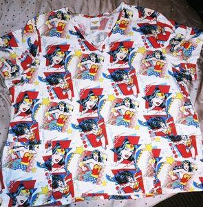 Wonder Woman Scrub shirt